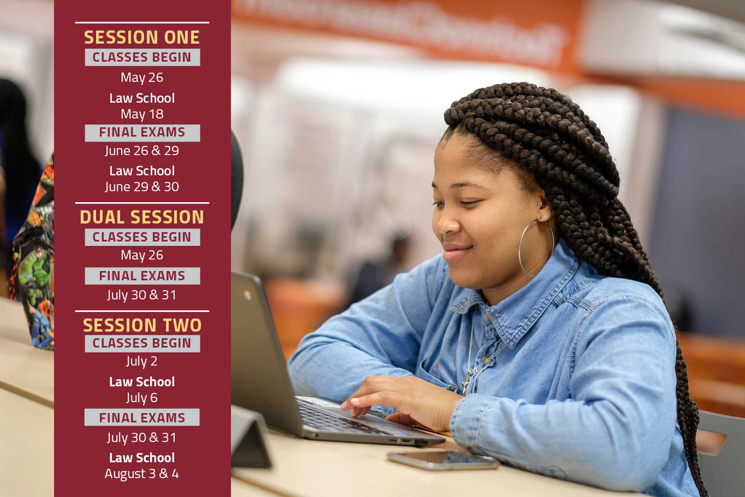 Now Enrolling! Summer Sessions at NC Central